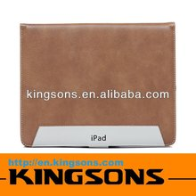 hot sell! high quality for fashion ipad case, leather case for ipad 2