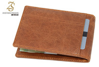 High Quality Top Selling Leather Wallet Money Clip for Men