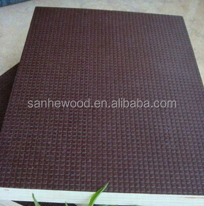 Antislip film faced plywood 1220x2440mm.1250x2550mm Combi Core Wood