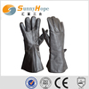 Sunnyhope long leather police gloves waterproof police gloves