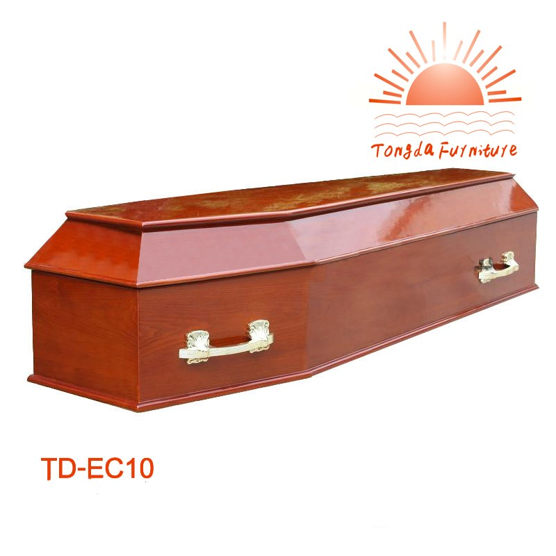 TD-EC10 Factory supply professional cheap cardboard coffin in wuhu