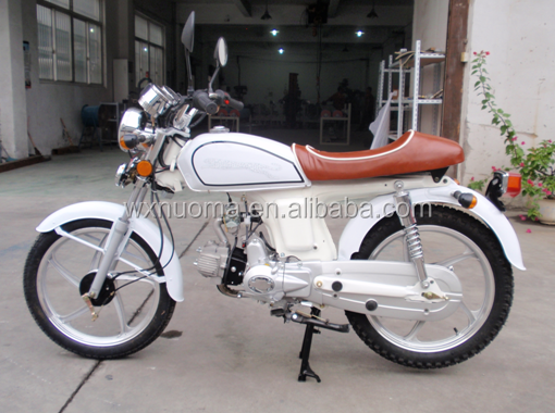 New retro Alpha 50cc motorcycle with EEC certification , retro style