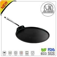 Hot-selling Aluminum Non-stick Round Electric Griddle Pan With S/S Handle