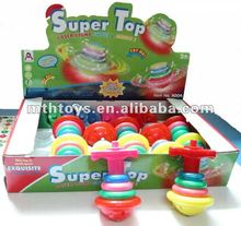 Super flashing light music top toys for kid