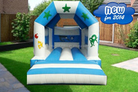 Commerical Inflatable jumping castle Multiplay Auto inflatable bouncer