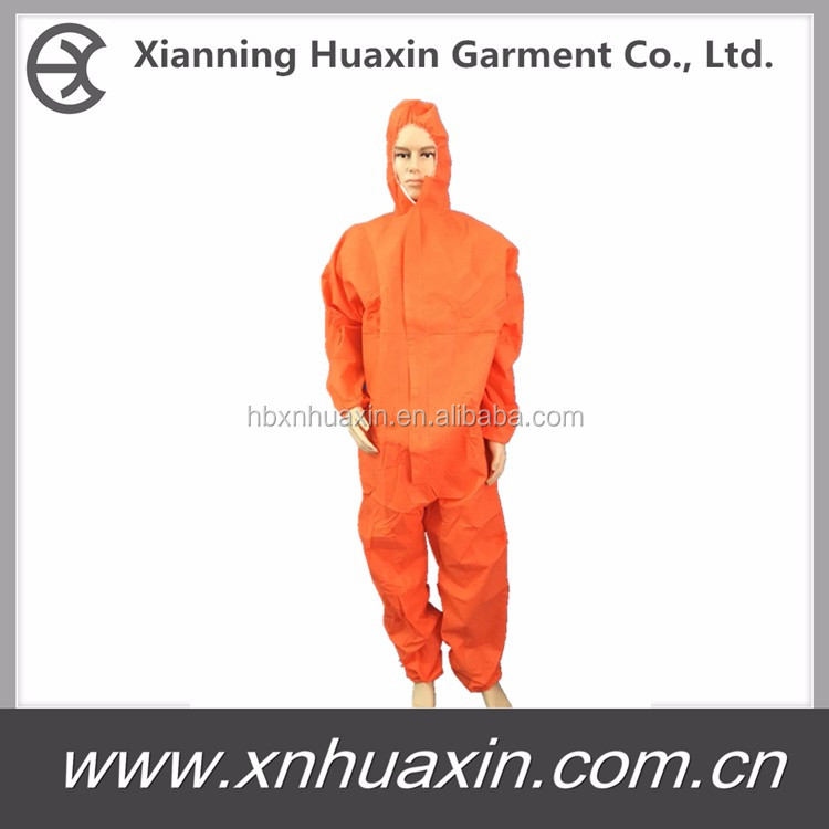 disposable nonwoven suit Cat 3 type 56 Coveralls