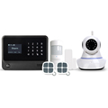 GSM WiFi GPRS burglar alarm system for home security