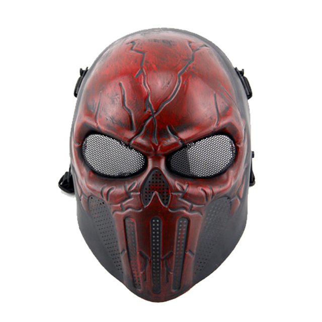 Military paintball protective shield pilaten full face airsoft tactical mask for male
