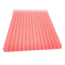 6mm colored polycarbonate hollow sheet for advertisement