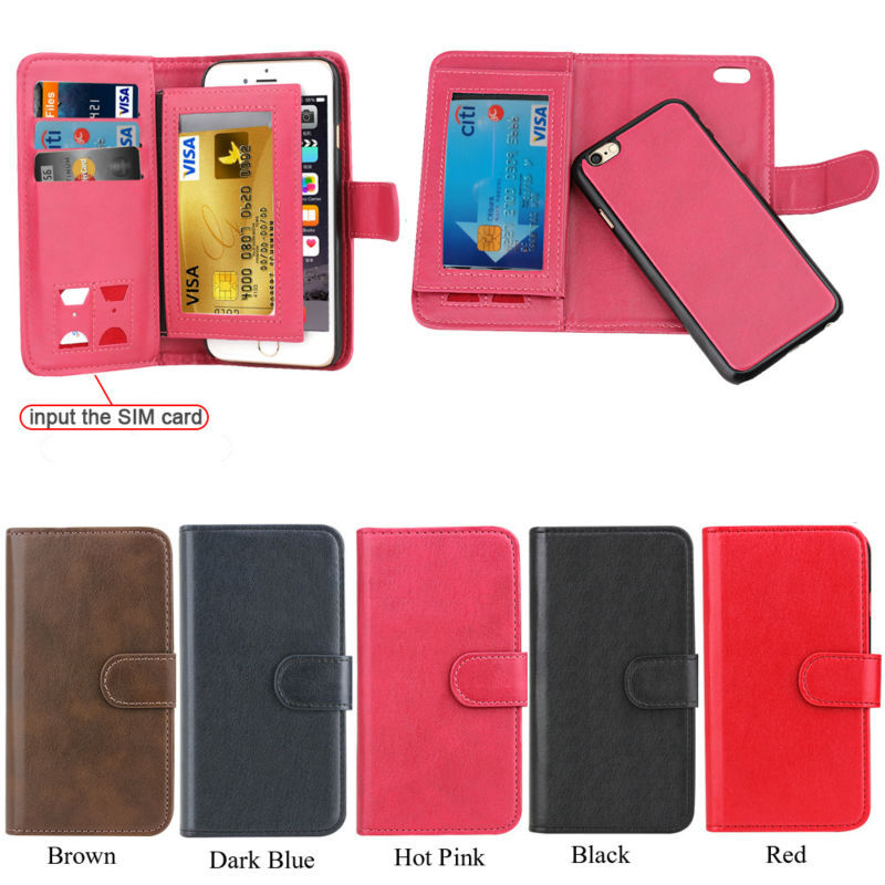 For Apple Iphone 5 Case for Iphone 5 Wallet Case with Book Style Credit Cards Slot Holder, for iphone 5 Leather Flip Case Cover
