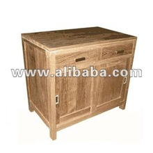 Buffet 2 Drawers - Recyced Teak Furniture - Recyceltem Teakholz