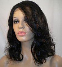 "CUSTOM MADE FULL LACE WIGS - Kanekalon-Toyokalon Front Lace Wig 14"" Loose Curl"