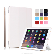 Manufactory Smart Awakening Magnetic Flip Cover Leather Case for iPad Air 2 for iPad 6
