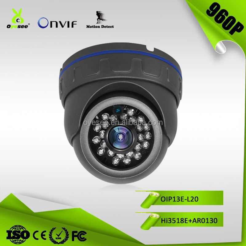 OIP13E-L20 960P 1.3MP IR Range 20m Motion detect RTS Vandalproof Cloud Onvif 2.3 ip camera security camera indoor