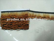 Golden Pheasant Fringe pheasant trimming feather dresses short