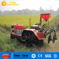 Paddy field tillage and fertilizing machine boat tractor