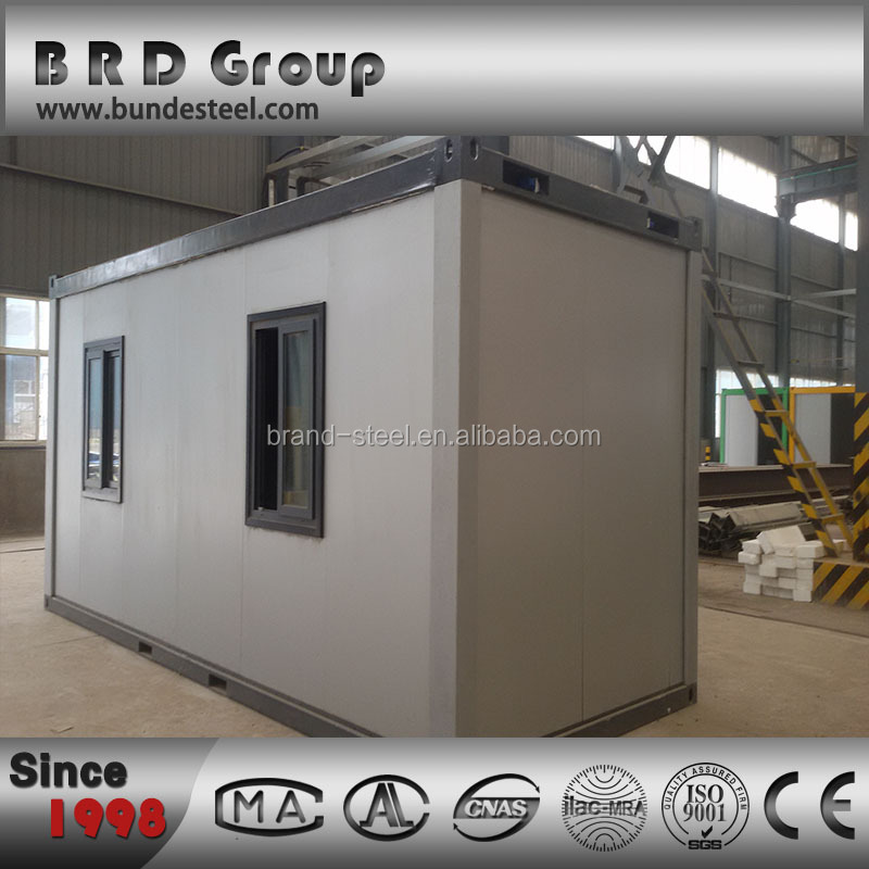 China Good quality insulation office 20ft prefab container House