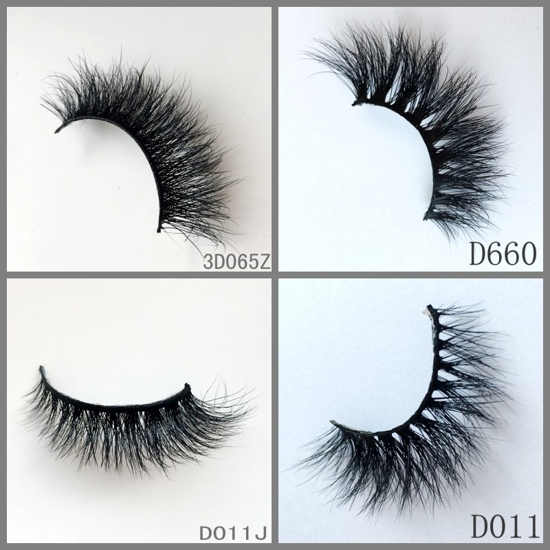 Wholesale Luxury Faux Mink Eyelash Extensions 3d mink lashes