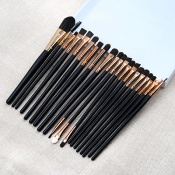 20 pcs eye makeup brush multi color cheap useful eye shadow brush on sale
