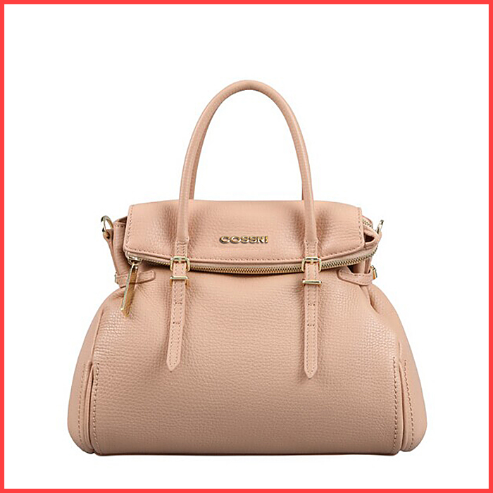 2016 Wholesale High-grade leather handbag Boston Genuine leather woman handbags Pure color single shoulder bag