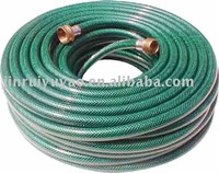 Plastic Pu Water Garden Hose 25-Foot 1/2-Inch Polyurethane Lead Safe Ultra-Light Recoil Garden Hose, Jasper For Garden Tool