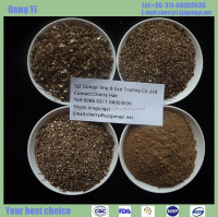 Long-term sales 40-120mesh vermiculite for linoleum, roof panels, referral gates board