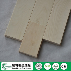 Best-selling maple solid wood flooring for sports field made in China