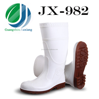 JX-982 white waterproof hunting boots