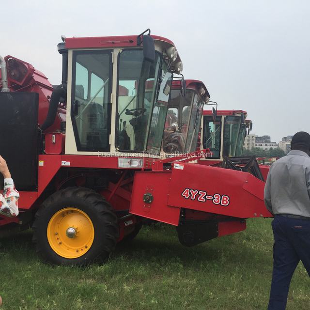 Agricultural machinery 4YZ-2 corn combine harvester