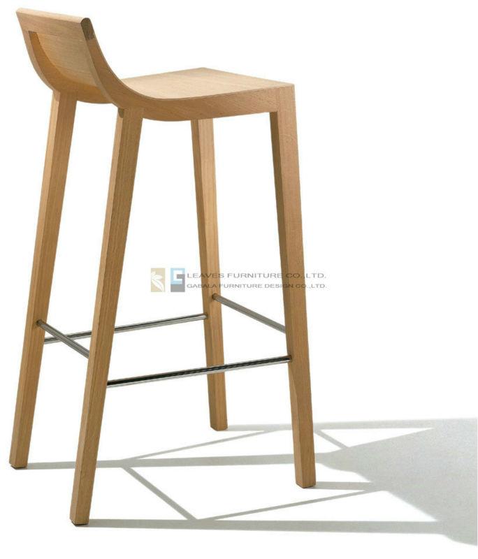 Cbl 001 Hot Sale Modern Design Wood Bar Stool Buy Modern