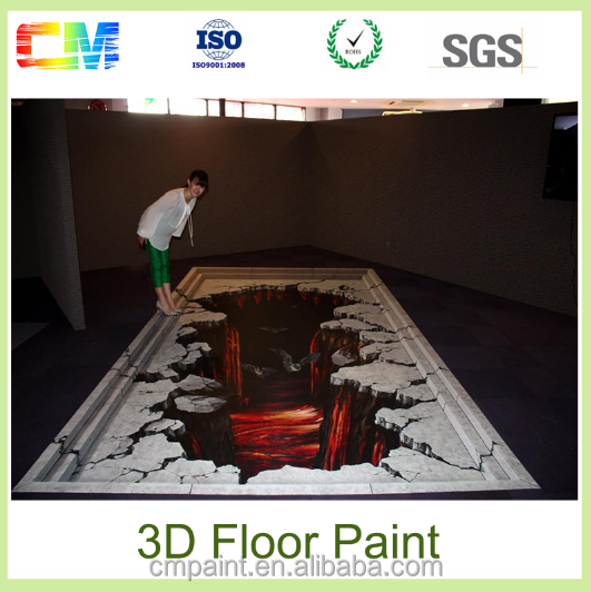 Alibaba china manufacturing strong anti-osmosis epoxy 3d floor paints coatings made in china
