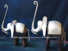 elephant handicraft metal animals