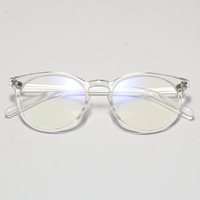 Fashion Round Women Men TR90 Eyewear Frame Clear Lens Transparent Eyeglasses Optical Glasses frames