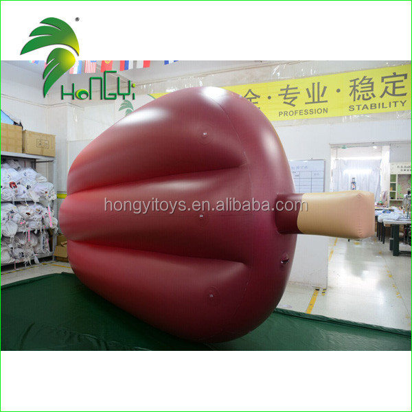 Funny Durable Waterproof PVC Inflatable Ice Cream Float Mattress Model