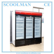 3 Glass Door Display Quick Freezing Freezers