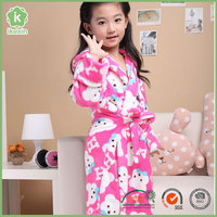Best Sell Cheap Flannel Bathrobes For Kids