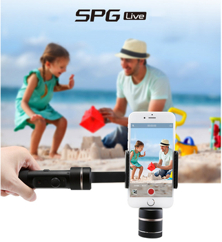 FeiyuTech 2017 Most Popular SPG LIVE 3 axis gimbal with zoom buttom handheld stabilizer for iphone samsung xiaomi huawe i ect
