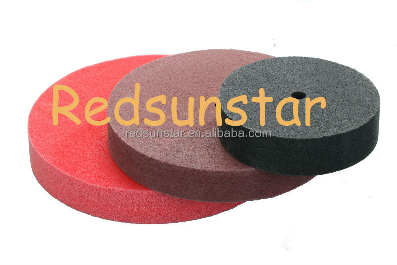 Nylon polishing pad nylon deburring wheel