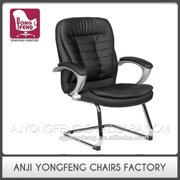 Steel chromed office chair,visitor chair