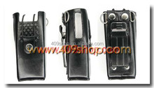 Good leather case for walkie talkie ham radio WOUXUN KG669