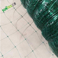 Quality black white green agriculture climbing net peas climbing bop netting/plant climbing plastic wire mesh for cucumber