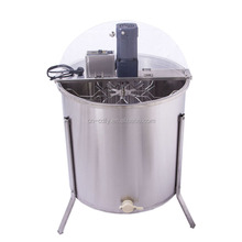 Hot sale 6 frames electric motor honey extractor/honey processing equipment