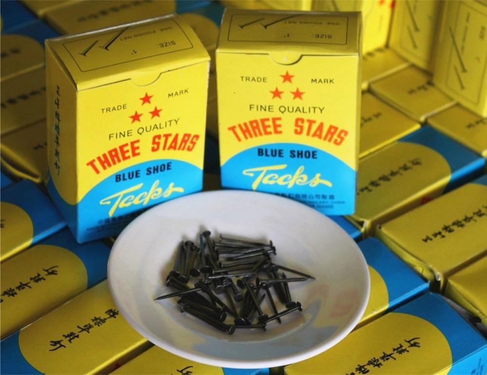 Blue Shoe Tacks  Shoe Nails  Hob Nails From Guangzhou Supplier