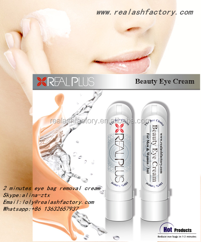 2016 hottest EU&US market compliance instantly Real Plus eye cream for anti eye bag,wrinkle,dark circles