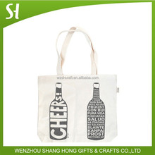 Alibaba Wholesale Custom Printed Double Wine Tote