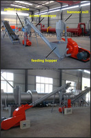 Small Wood Pellet Making Line With Crushing Hammer Mill