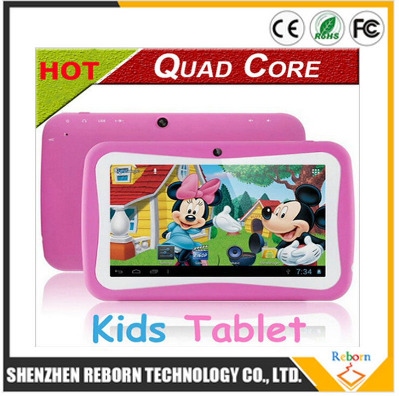 NEW Kids Tablet 7Inch Quad Core RK3126 Android 5.1 Tablet PC