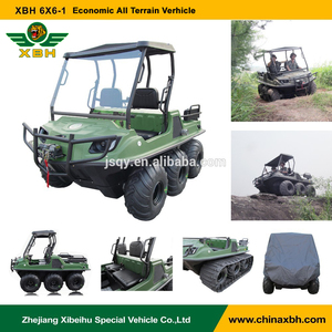 XBH 6x6-1 Economic All Terrain vehicle anfibio 6 wheels 600cc Gasoline Wild adventure car atv