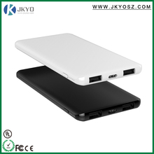 Manufactory price Promotional gift 5000mah power banks with real capacity