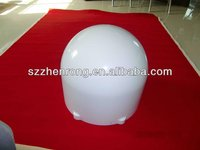 round shaped special design thic plastic cover with smooth material